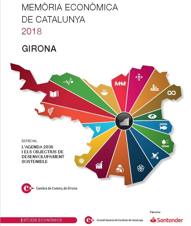 Memòria econòmica de Catalunya 2018 (Girona)